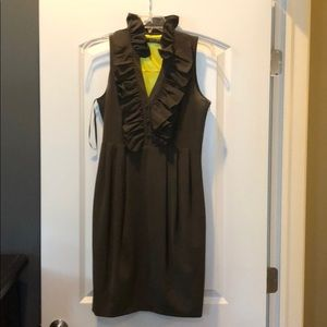 Olive green Marc New York Andrew Marc dress